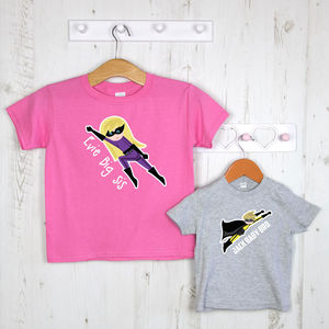 Personalised Child's Super Hero T Shirt