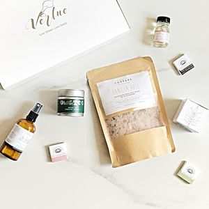 Eco Luxury Natural Beauty Relax Gift Set - bath & body sets