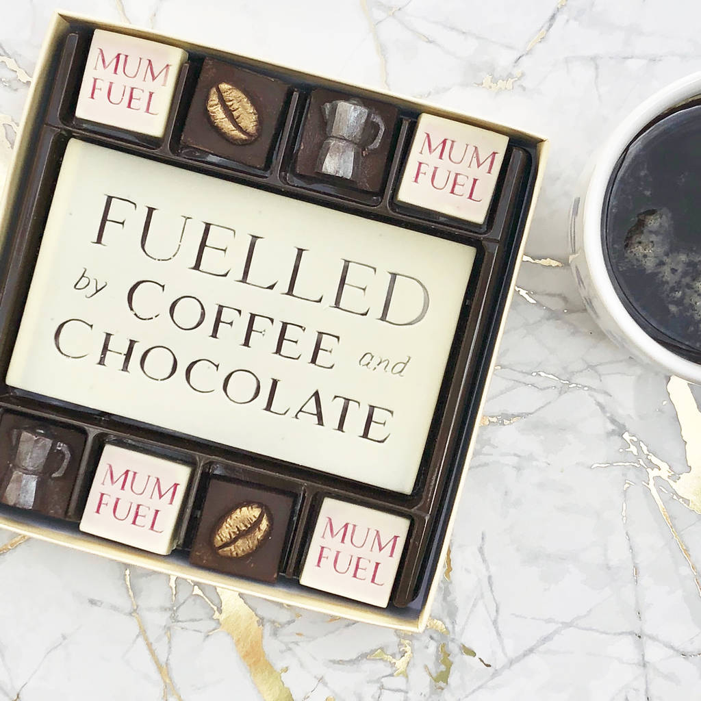 Mum Fuel Chocolate Coffee Box
