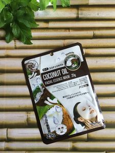 Coconut Oil Sheet Face Mask - skin care