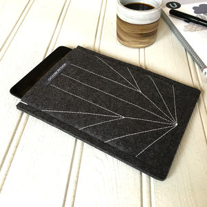 Kindle / Kobo / iPad Flight Felt Case - mens