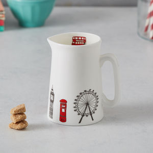 London Skyline Half Pint Jug - kitchen