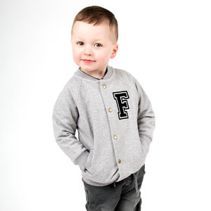 Personalised Toddler College Bomber Jacket - clothing