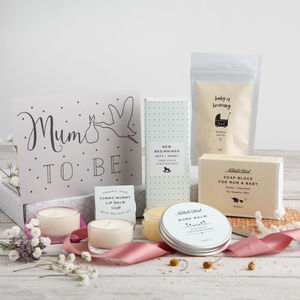 'Mum To Be' Letterbox Gift Set - for new mums