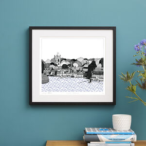Henley On Thames Screen Print