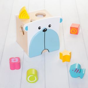 Bear Shape Sorter Toy - baby toys