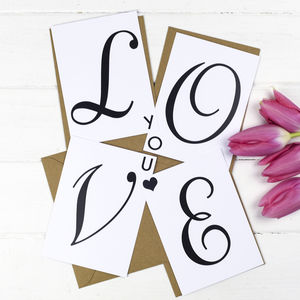Love Message Postcards - shop by category