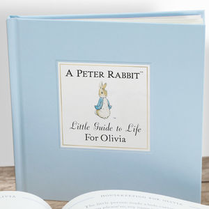 Personalised Peter Rabbit Book: Christening Gift - gift sets