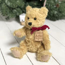 Personalised 1st Christmas Teddy Bear