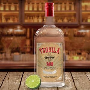 Personalised Tequila Bottle With Gift Box