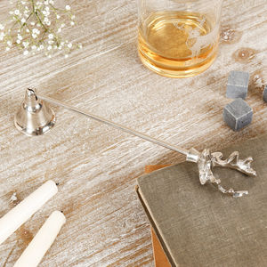 Stag Head Candle Snuffer