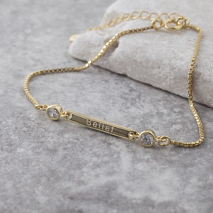Gold Belief Affirmation Bracelet