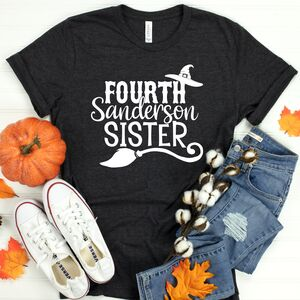 Fourth Sanderson Sister Slogan T Shirt