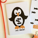 Penguin Notebook Party Bag Filler Or Stocking Filler