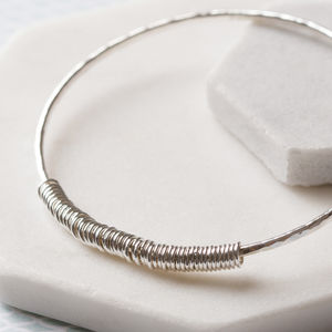 50th Birthday Bangle - birthday gifts