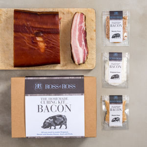 Make Your Own Bacon Kit - gifts for him sale
