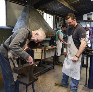 Blacksmithing With The Family At Oldfield Forge - experiences
