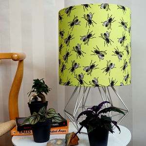 Fly Du Citron Vert Housefly Insect Green Lampshade - lighting