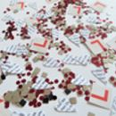 Personalised 'L' Plate Hen Party Table Confetti