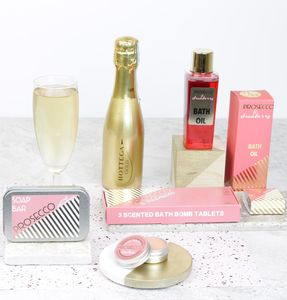 Prosecco Themed Relax Pamper Hamper - gifts for her