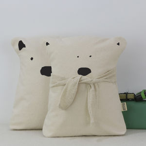 Bear Cushion Set - christmas home accessories
