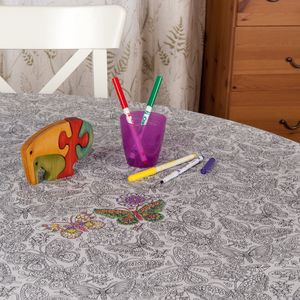 Butterfly Colour Me In Tablecloth - activity & colouring books