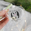 Family's First Christmas Penguin Bauble Keepsake