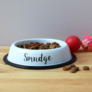 Personalied Non Slip Cat Bowl - food, feeding & treats