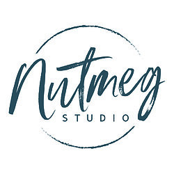 Nutmeg wall stickers Studio logo