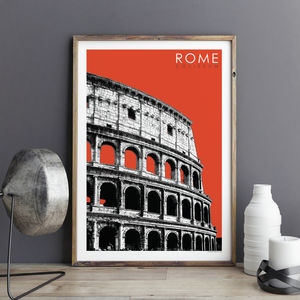 Rome Travel Print The Coliseum
