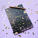 Metallic Stargazer Constellations A5 Notebook