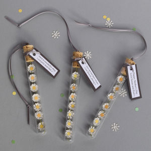 Paper Daisy Chain Personalised Gift - hanging decorations