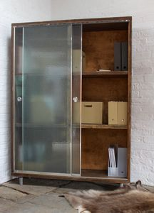 Wilkinson Reclaimed Wood Stationery Cupboard - cabinets