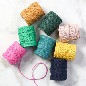 Solid British Bakers Twine - ribbon, twine & tape