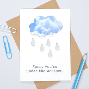 Personalised Get Well Or Sorry Card - shop by category