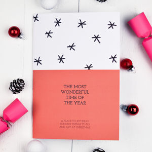 The Most Wonderful Time Of The Year Christmas Notebook