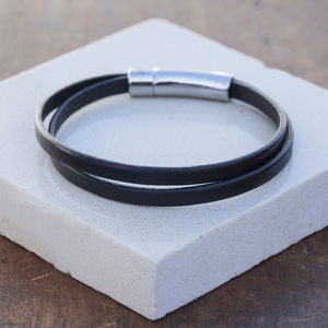 Black Urban Ranch Twist Bracelet - bracelets