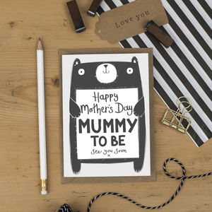 Mummy To Be Mother's Day Card From The Bump