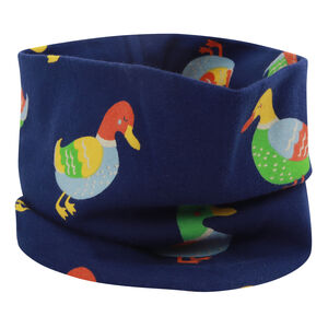 Kids Navy Blue Duck Neck Warmer