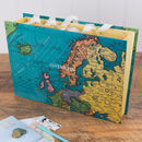 Personalised World Map Travel Organiser File