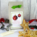 Personalised Teacher Christmas Shortbread Kit