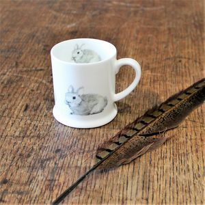 Bunny Rabbit Bone China Mini Mug