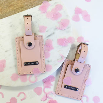 Personalised Hers And Hers Luggage Tags