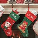 Festive Friends Personalised Christmas Stocking