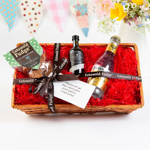 Gin And Fudge For One Hamper