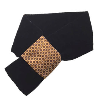 Pure Silk And Velvet Unisex Neck Tie