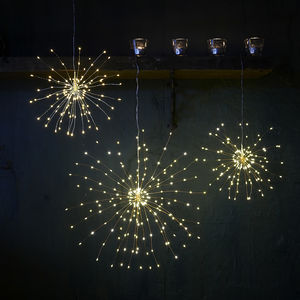 Indoor Or Outdoor LED Starburst Light - christmas decorations