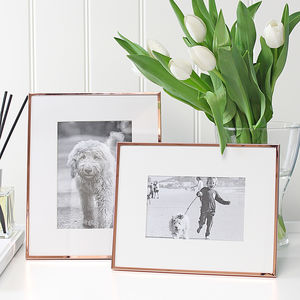 Copper Fine Edged Photoframe