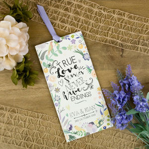 True Love Wallet Wedding Invitation