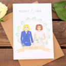 Mrs And Mrs Lesbian Wedding Or Civil Partnership Card